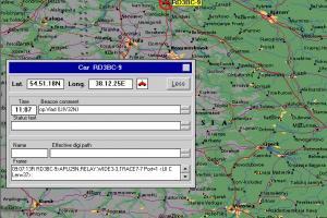 APRS-экспедиция на Щучинский плацдарм 5-10 Мая 2005 г.