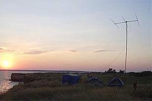 Экспедиция на о. Березань 21.07-30.07.2006 IOTA Contest EU-179