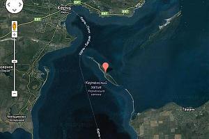 Миниэкспедиция на EU-180 остров Коса Тузла в августе 2012 года