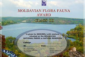 MFFA - (Moldavian flora fauna award)
