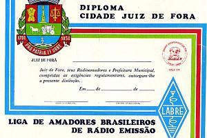 DCJF AWARD (DIPLOMA CITY JUIZ de FORA)