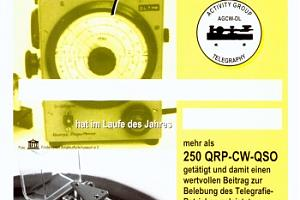 QRP-CW-250 (QRP CW 250 DIPLOM)
