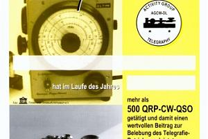 QRP-CW-500 (QRP CW 500 DIPLOM)