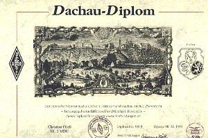 DACHAU DIPLOM