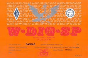 W - DIG – SP AWARD (WORKED DIG POLAND)