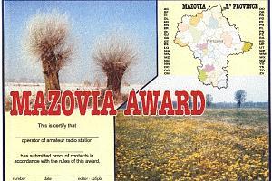 MAZOWSZE (MAZOVIA) AWARD