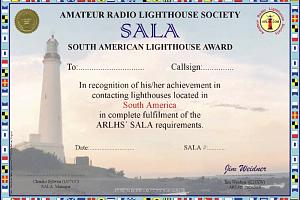 SALA (SOUTH AMERICAN LIGHTHOUSE AWARD)