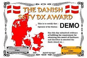 DANISH DX SSTV AWARD