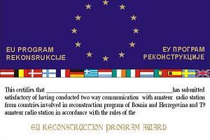 EU RECONSTRUCTION PROGRAM IN B&H AWARD