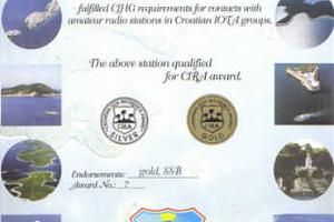CIRA (CROATIAN IOTA REFERENCE AWARD)