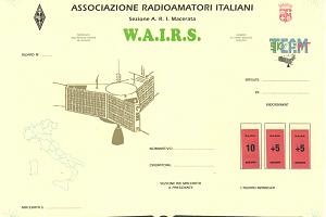 W.A.I.R.S. (WORKED ALL ITALIAN REGIONS SATELLITE)