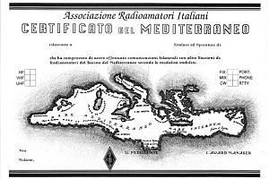 C.D.M. (CERTIFICATO DEL MEDITERRANEO)