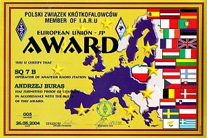 EU-SP-A (EUROPEAN UNION SP AWARD)