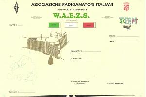 W.A.E.Z.S. (WORKED ALL EUROPEAN ZONES SATELLITE)