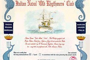I.N.O.R.C. (ITALIAN NAVY OLD RHYTHMERS CLUB AWARD)