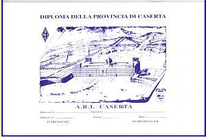 DIPLOMA DELLA PROVINCIA DI CASERTA (CASERTA'S PROVINCE AWARD)