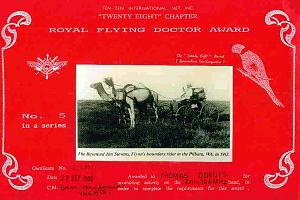 ROYAL FLYING DOCTOR SERVICE AWARD