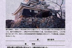 HAMAMATSU CASTLE AWARD