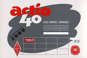 ACTIO 40 AWARD