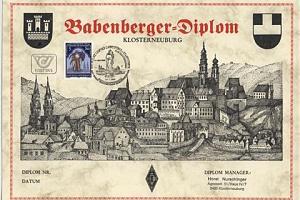 BABENBERGER DIPLOMA