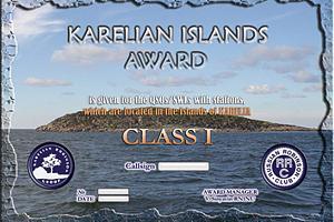 KARELIAN ISLAND'S AWARD