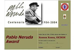 PABLO NERUDA AWARD