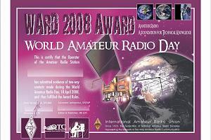 WARD 2008 AWARD