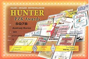 PZK AWARD HUNTER