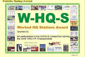 W-HQ-S AWARD