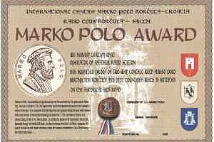 MARKO POLO AWARD