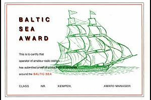BALTIC SEA AWARD