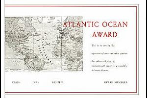ATLANTIC OCEAN AWARD