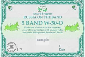 Дипломная программа «Россия на диапазонах»