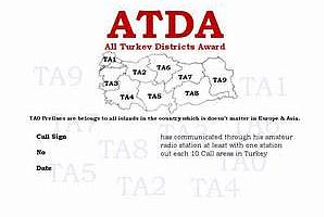 ATDA (ALL TURKEY DISTRICTS AWARD)