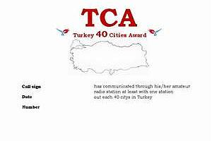TCA (TURKEY 40 CITIES AWARD)