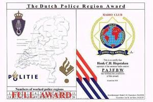 THE DUTCH POLICE REGION AWARD