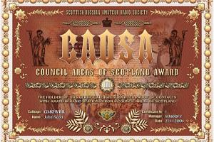 CAOSA (COUNCIL AREAS OF SCOTLAND AWARD)