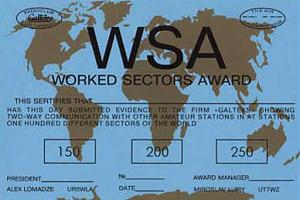 WORKED SECTORS AWARD (WSA)