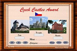 CZECH CASTLES AWARD