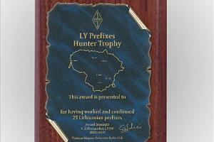 LY Prefix Hunter Trophy