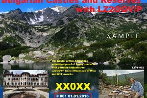Bulgarian Castles and Reserves with LZ2OQV/P
