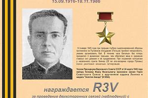 К 100-летию со дня рождения Героя Советского Союза Климова И.В.