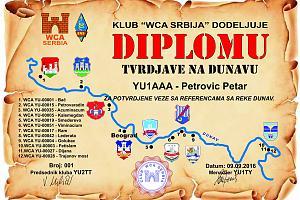 TVRDJAVE NA DUNAVU - Крепость на Дунае
