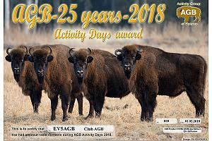 AGB 25 years ActivityDays 2018
