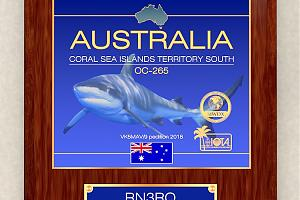 AUSTRALIA - Coral See Islands Territory South
