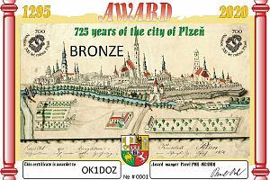 725 лет городу Пльзень