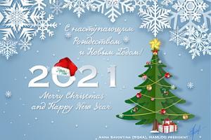 С Новым Годом и Рождеством от HAMLOG