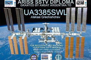 ARISS  SSTV  DIPLOMA