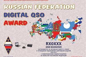 RUSSIAN FEDERATION DIGITAL QSO - RY