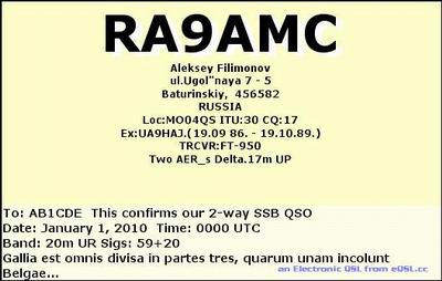 RA9AMC